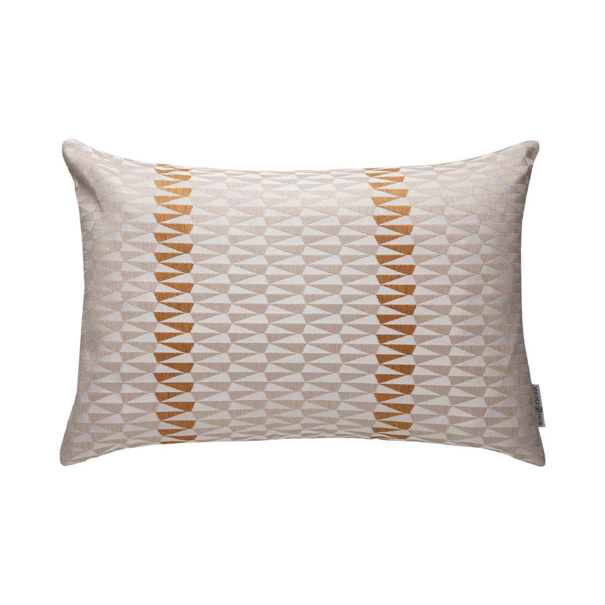 White Arrow Pillow