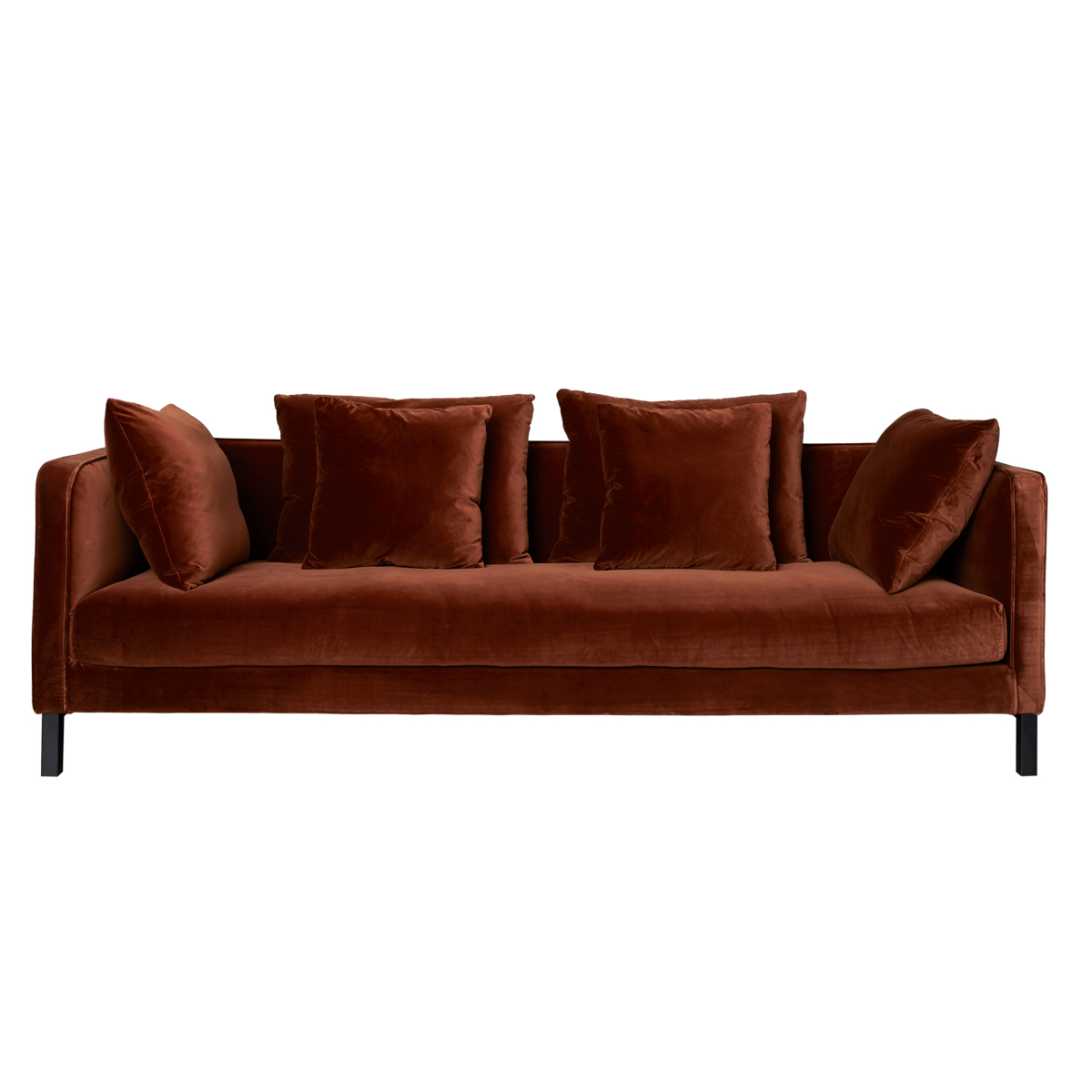 Mercer Sofa – Rust