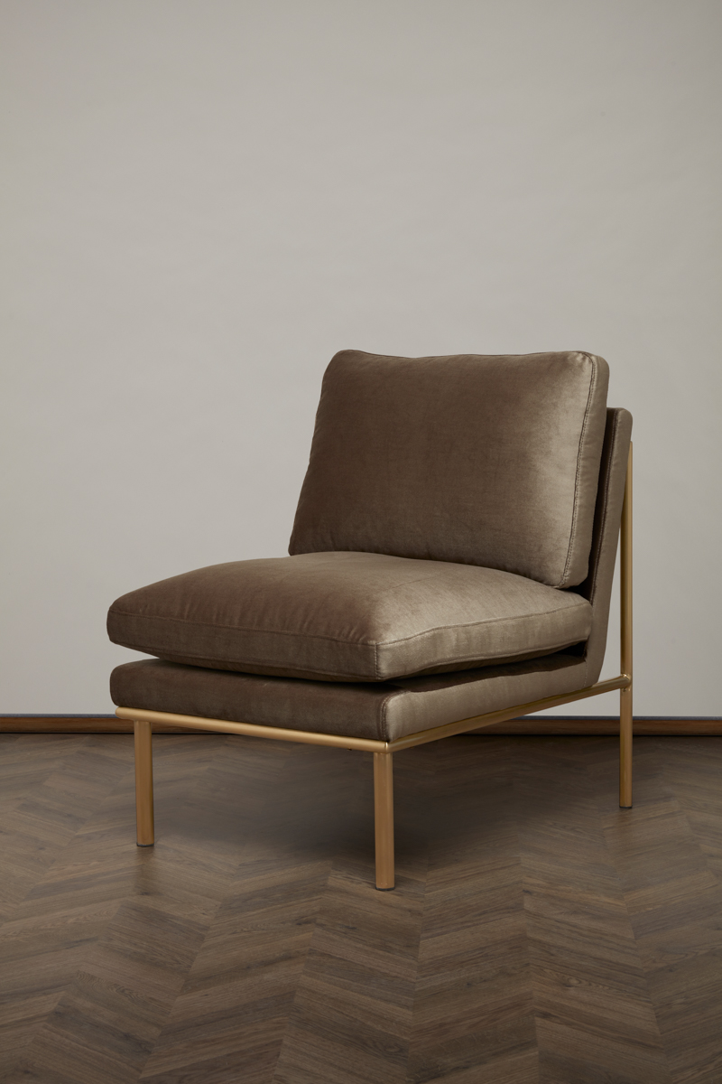 April Lounge Chair – Nougat