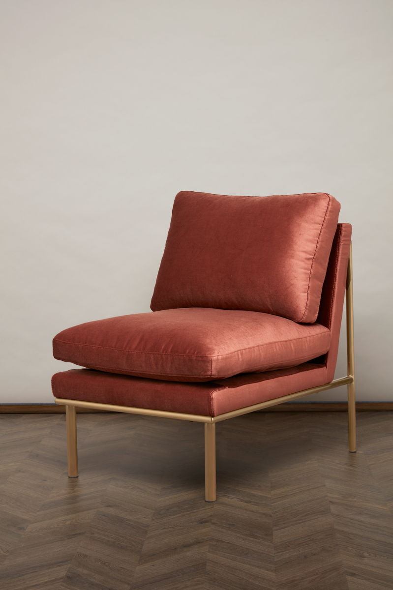 April Lounge Chair – Sorbet