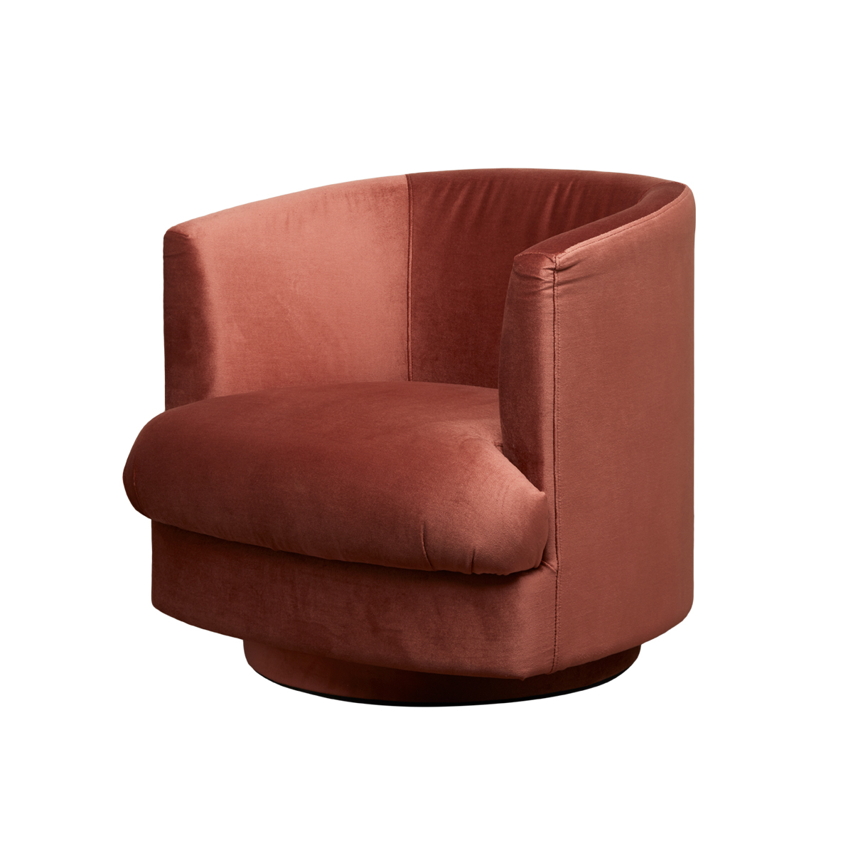 Cleo Swivel Chair – Sorbet