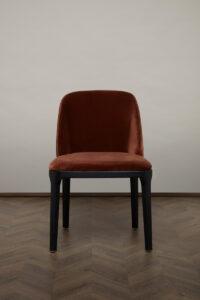 Gemma Dining Chair – Rust