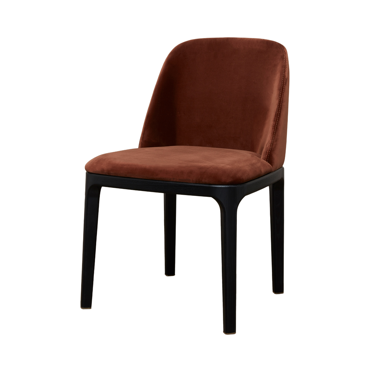 Gemma Dining Chair – Rust