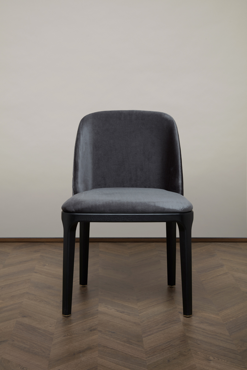 Gemma Dining Chair – Black Pearl