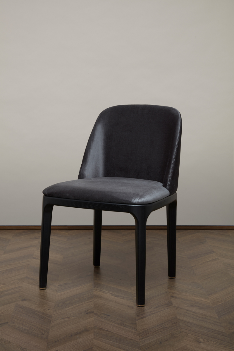 Gemma Dining Chair – Black Pearl