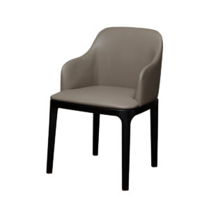 Gemma Dining Chair X – Greige Leather