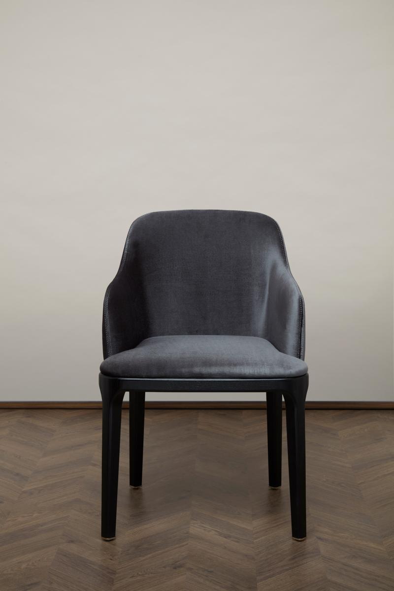 Gemma Dining Chair X – Black Pearl