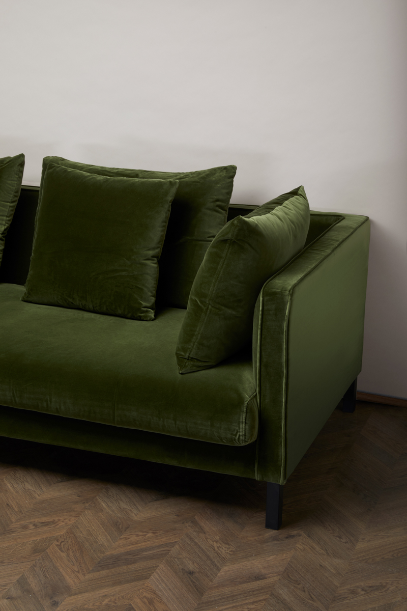 Mercer Sofa – Amazon Green