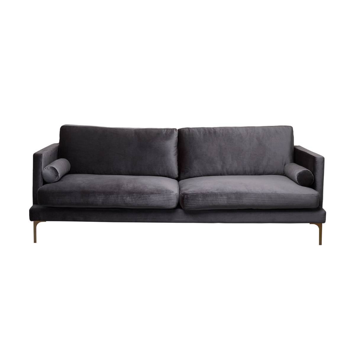 Bonham Sofa – 2 Cushions – Black Pearl