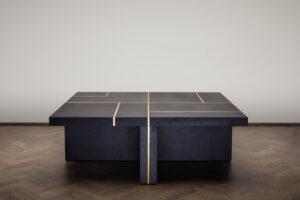 Mercer Coffee Table – Black Oak