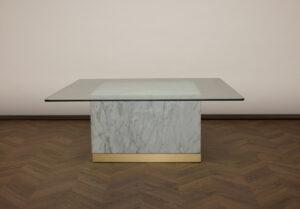 Quebec Soffbord – Vit marmor