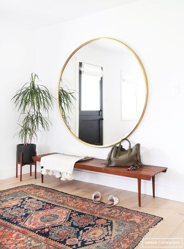 Round wall mirrors