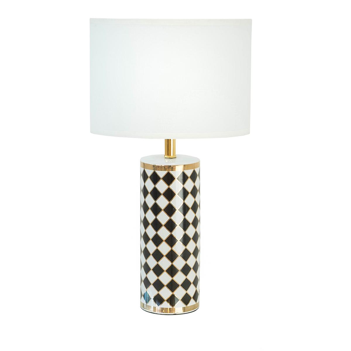 Becca Ceramic Lamp – Chess