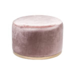 Cara Ottoman – Orchid Pink