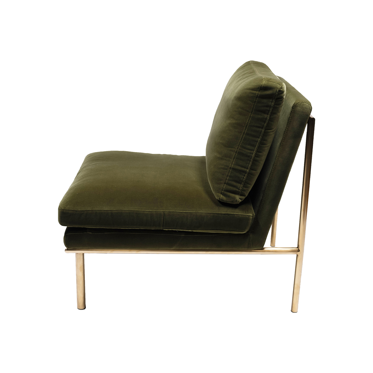 April Lounge Chair – Amazon Green