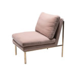 April Lounge Chair – Ivory