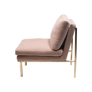 April Lounge Chair – Powder