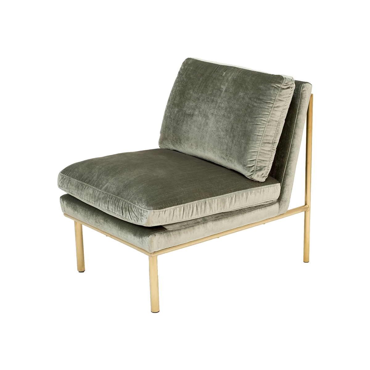 April Lounge Chair – Spearmint