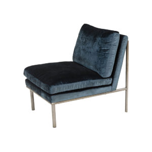April Lounge Chair – Indigo