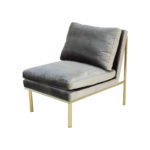 April Lounge Chair – Dorian Grey
