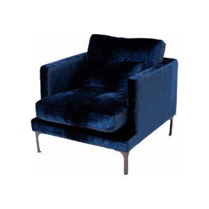 Bonham Armchair – Indigo