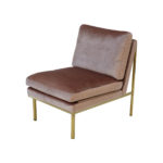 April Lounge Chair – Orchid Pink
