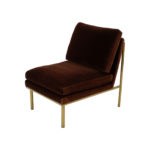 April Lounge Chair – Rust