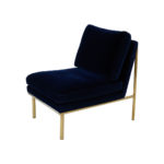April Lounge Chair – Midnight Blue
