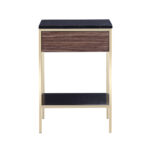 Erin Side Table – Brass