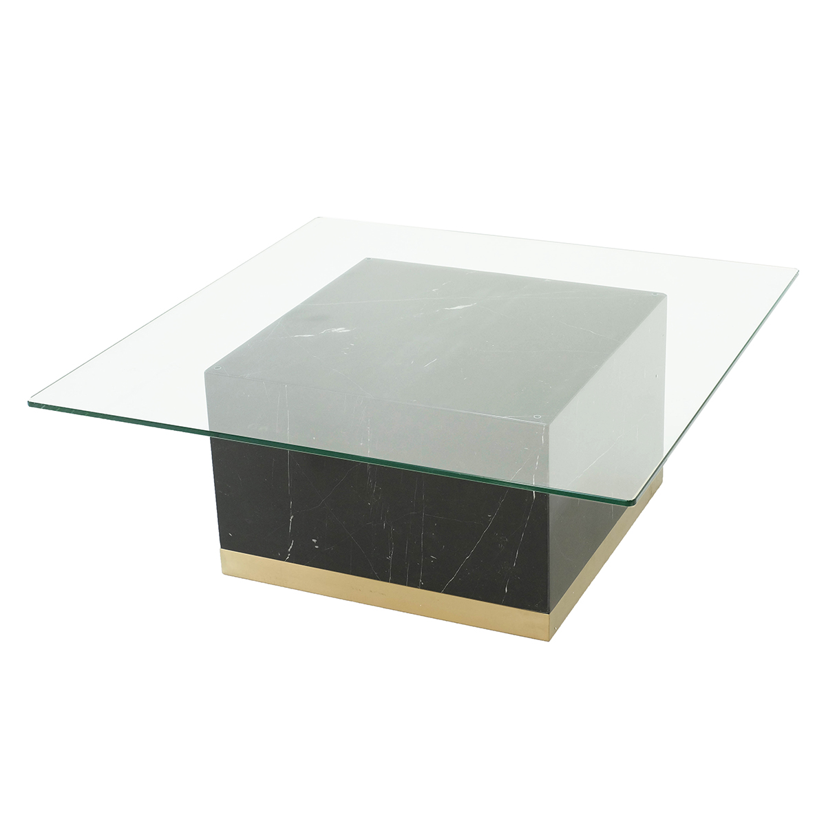 Quebec Coffee Table – Black Marquina Marble
