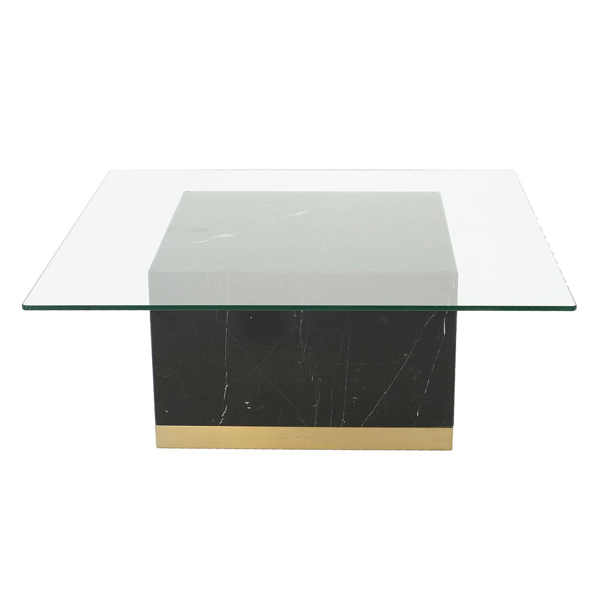 Quebec Coffee Table – Svart Marquina Marmor