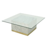 Quebec Coffee Table – White Carrara Marble