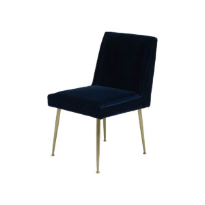 Art Dining Chair – Midnight Blue