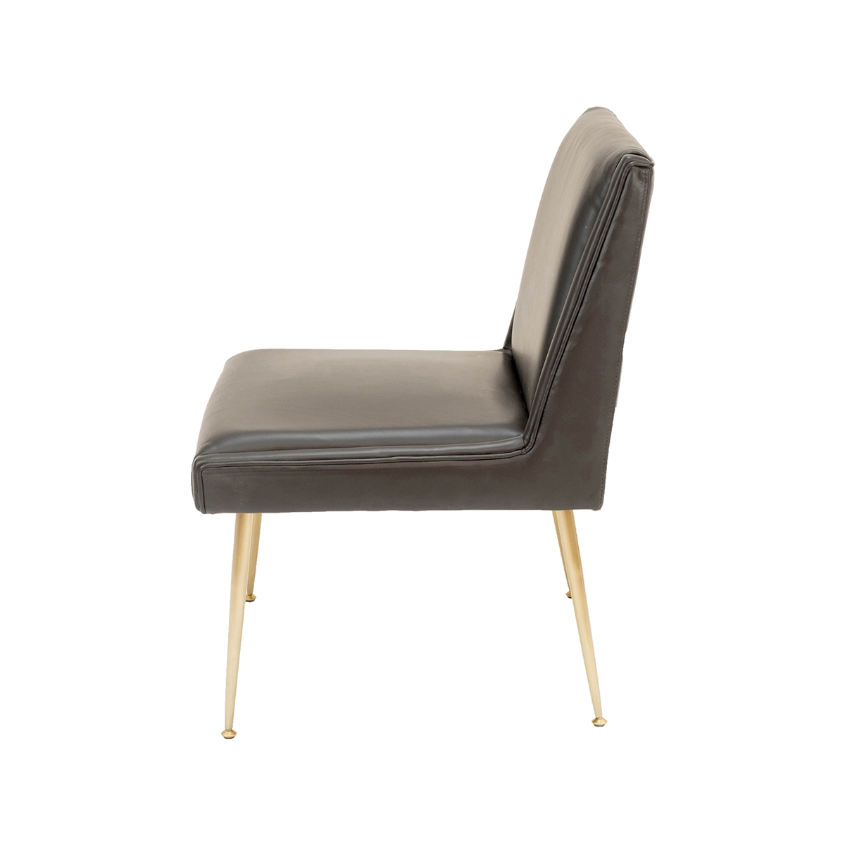 Art Lounge Chair – Black Leather