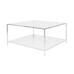 Big Square Table – Chrome
