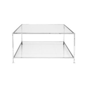 Big Square Table – Chrome