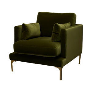 Bonham Armchair – Amazon Green