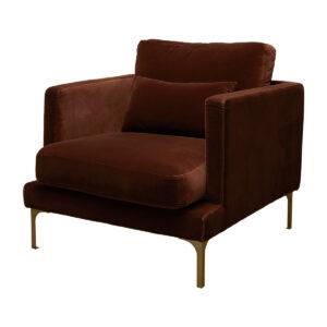 Bonham Armchair – Rust