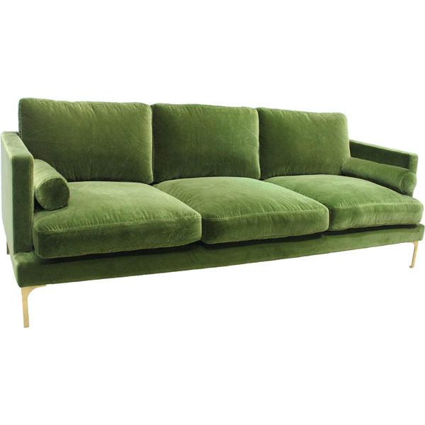 Bonham Sofa – Amazon Green