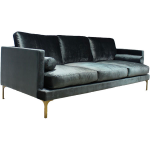 Bonham Sofa – Blue Steel