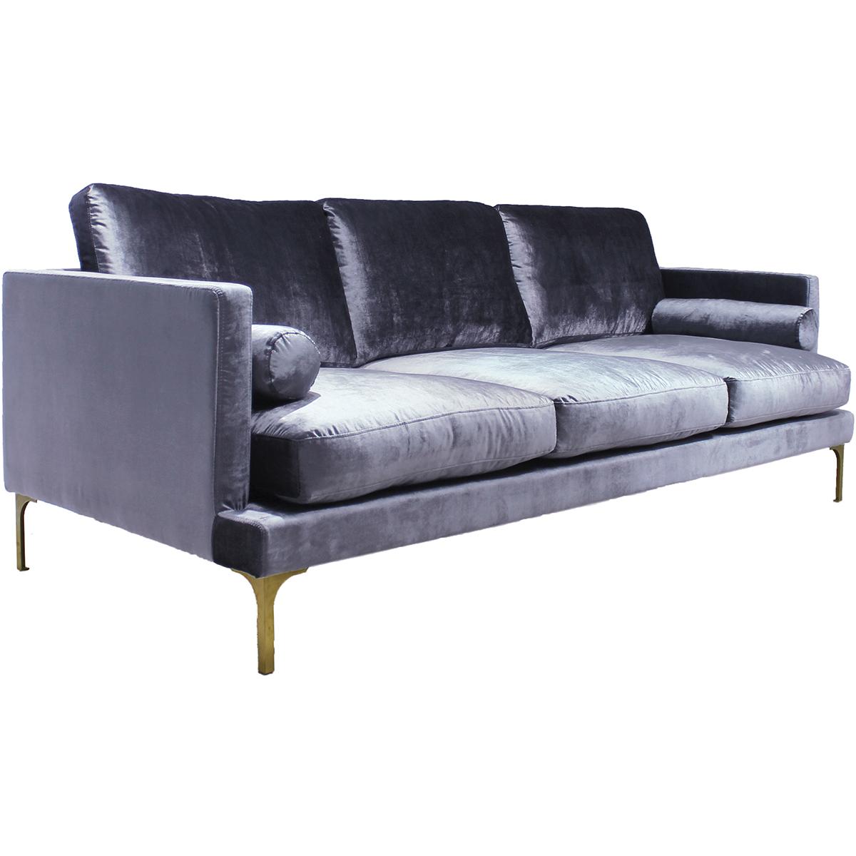 Bonham Sofa – Blue Steel