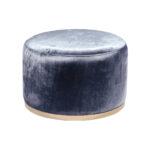Cara Ottoman – Blue Steel