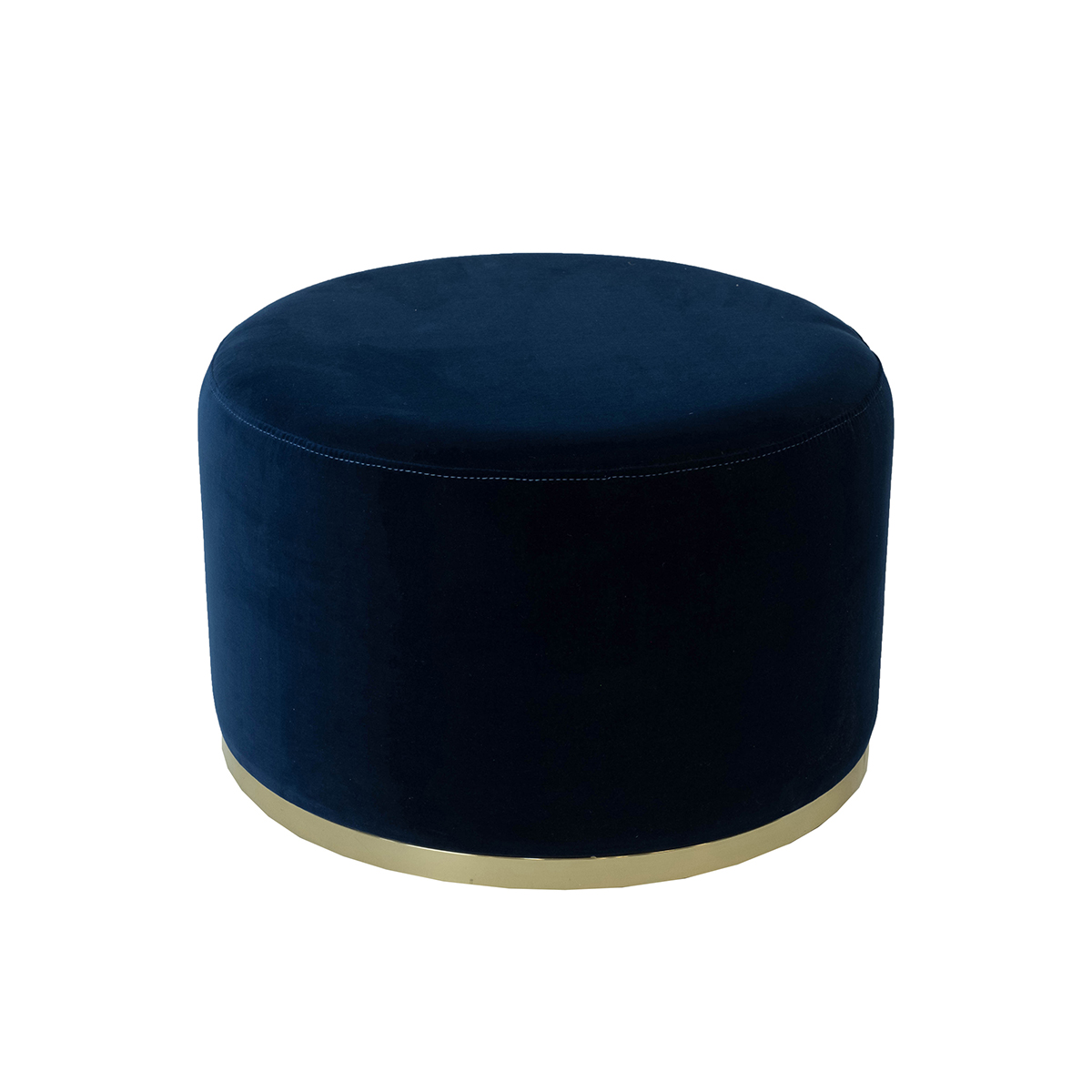Cara Ottoman – Midnight Blue