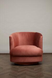 Cleo Swivel Chair – Sorbet