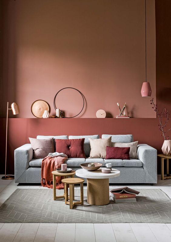 Interior trends and colors for 2019