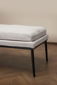 Coya Bench – Antique White