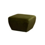 Diamond Ottoman – Amazon Green