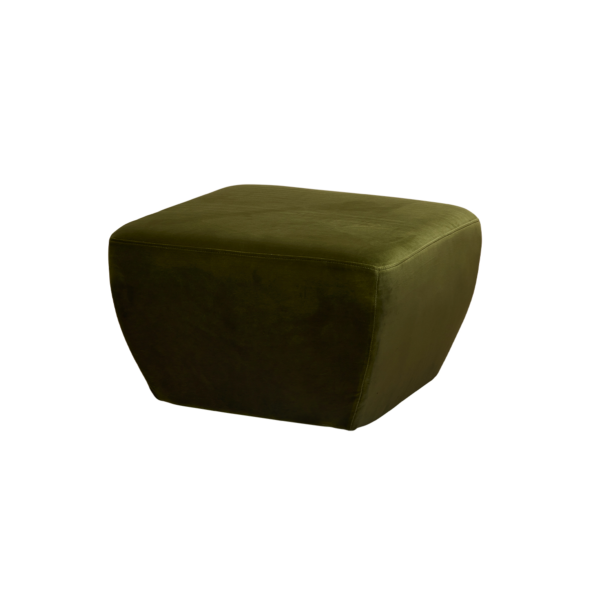 Diamond Ottoman – Amazon Green