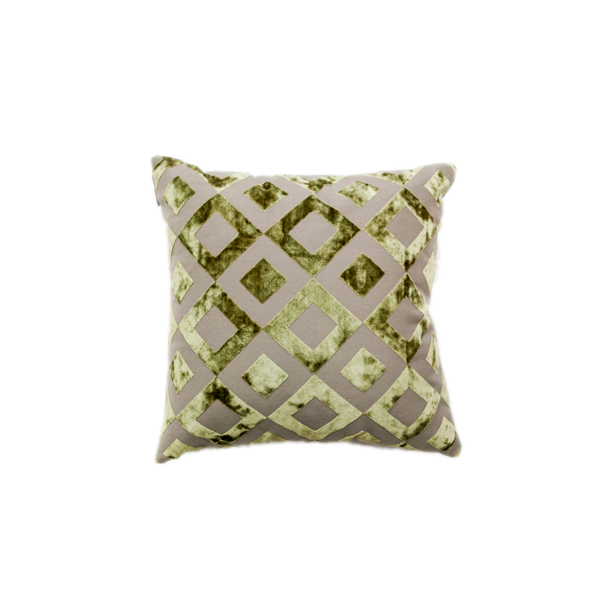 Emerald Diamond Pillow