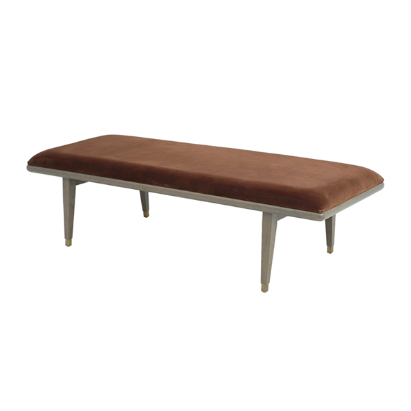 Erin Bench – Rust Orange